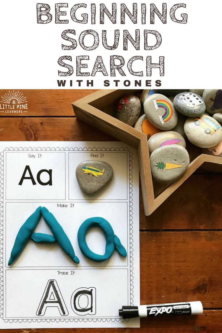 There is something so special about a stone. They are unique treasures that kids love to collect, play with, and display. They are also inviting learning tools! Here are four ways to use stones in the traditional, homeschool, or outdoor classroom setting.