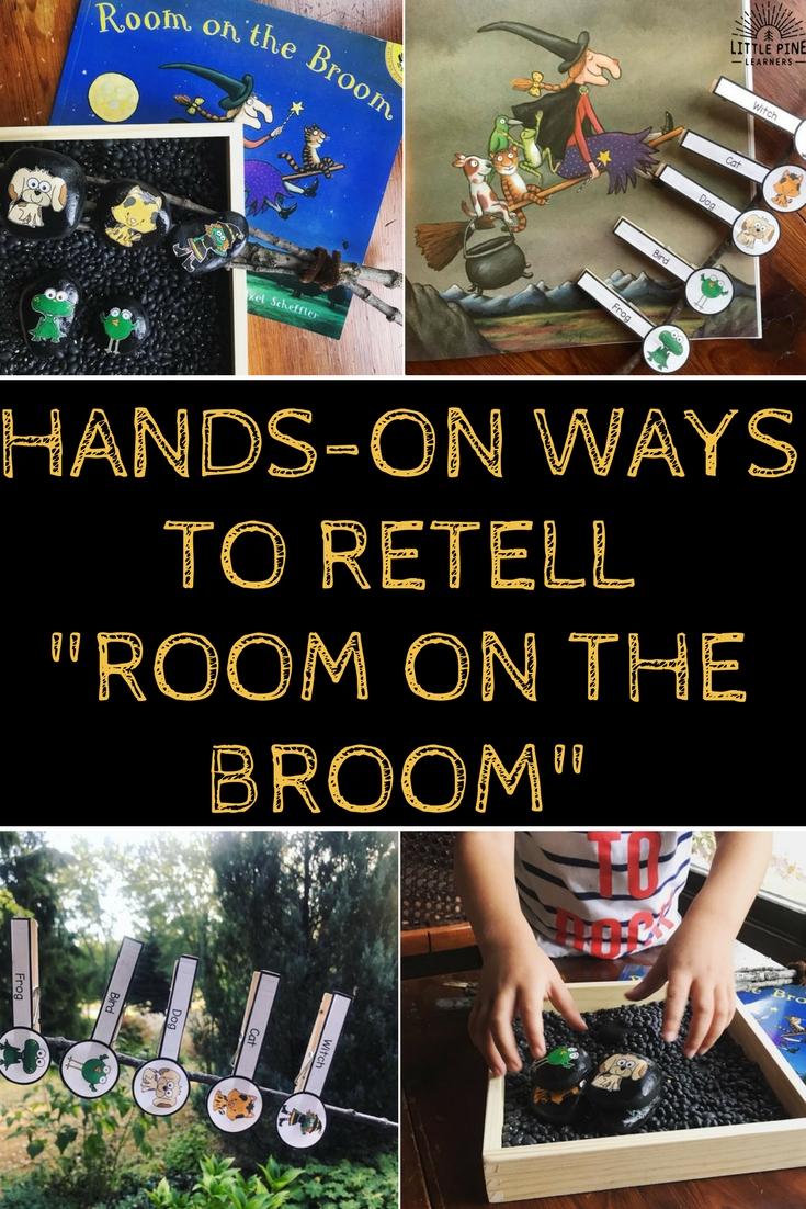Room on the Broom printables!