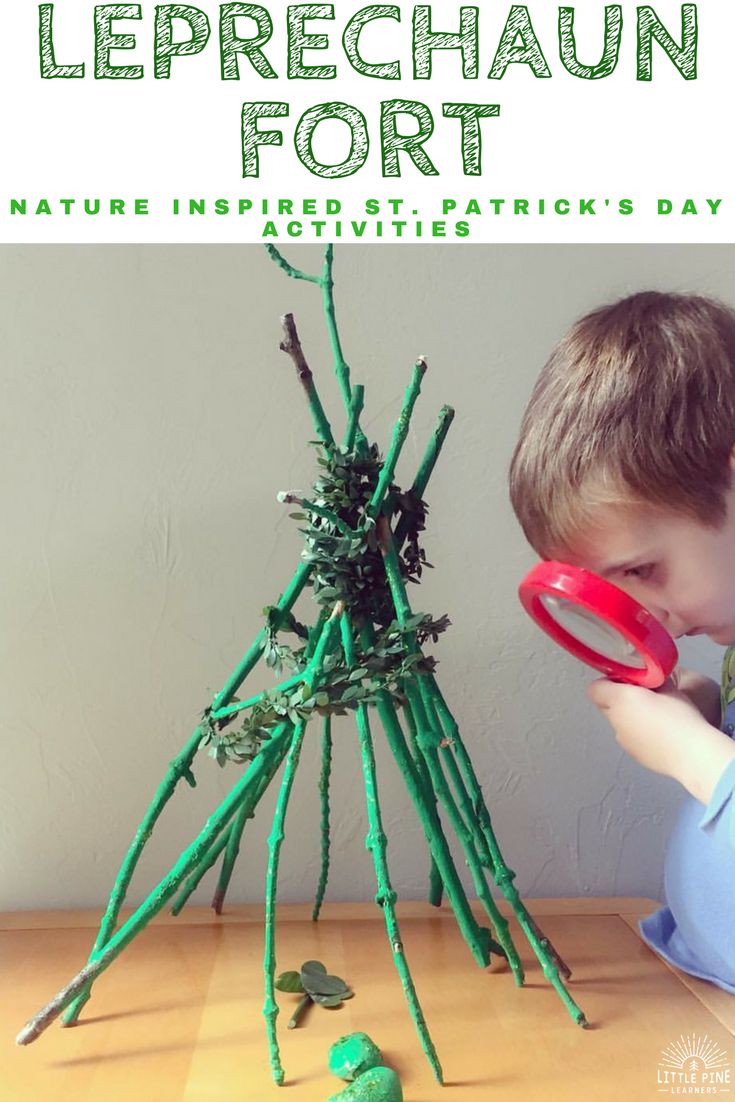 If you are looking for creative St. Patrick's Day activities, look no further. Here are four nature inspired St. Patrick's Day activities to try!