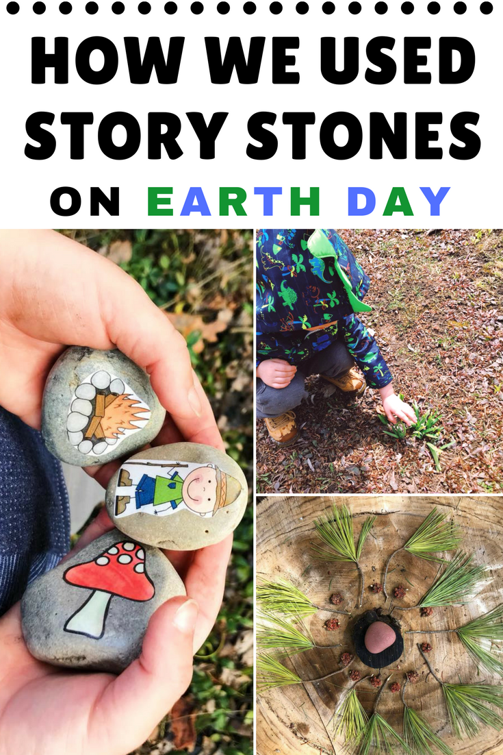 This Earth Day, head outdoors for a day of fun with your little ones. Just the simple act of getting outside, will give your children a greater appreciation for the environment. You can take a long walk in a forest or stay in your very own backyard. Don't forget to revisit your adventures with these gorgeous story stones at the end of the day!
