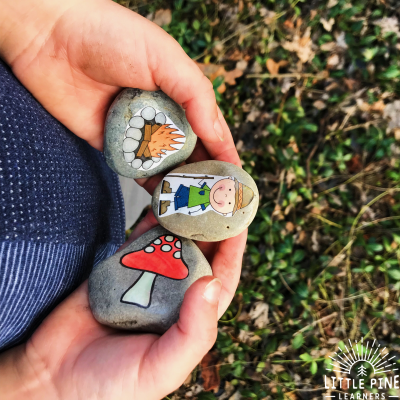 How we Used Story Stones on Earth Day
