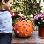 The cutest no carve pumpkin design!