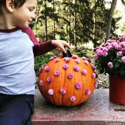 The Cutest No-Carve Pumpkin Design