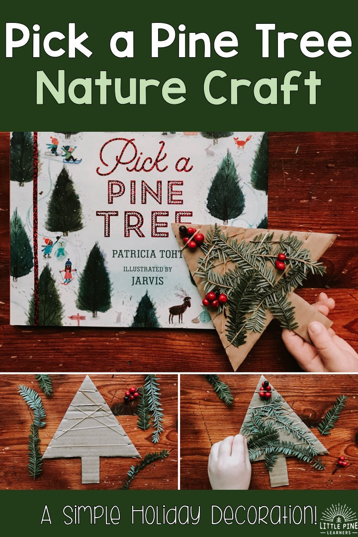 Pick A Pine Tree Nature Craft Little Pine Learners