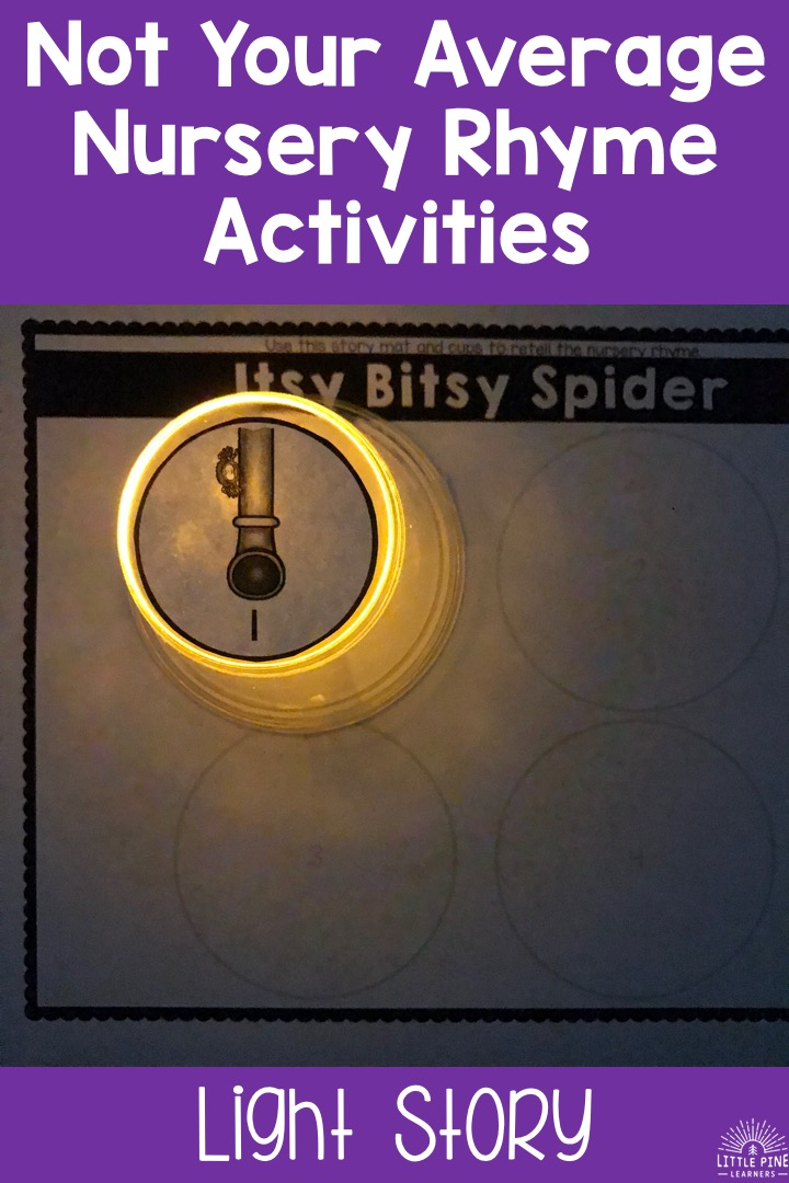 Nursery rhyme activities!