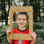 If you love dandelion crafts, I have a really unique and adorable idea for you! You only need a few supplies and can feel great about repurposing cardboard for this simple nature craft. This dandelion frame would make a great Earth Day craft, Mother's Day gift, or a cute decorative frame for your crafts or pictures to display in your home.