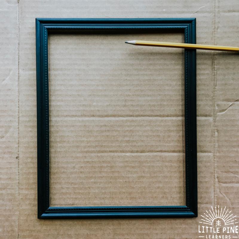 Cute dandelion frame that kids can make!