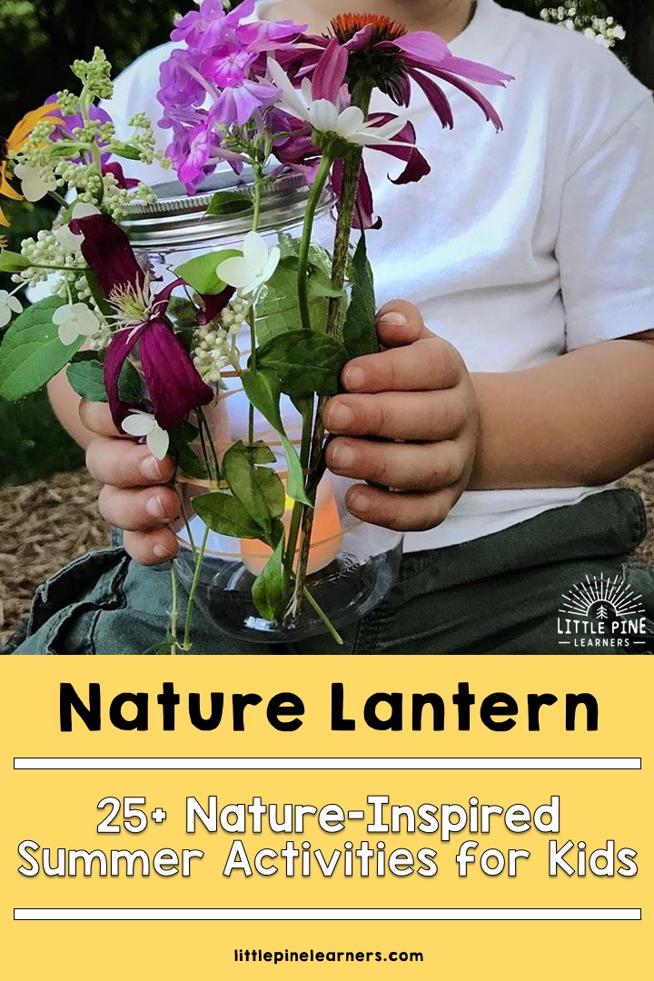 Try these 25 Nature-Inspired Summer Activities for Kids today! #outdooractivities #naturecrafts #natureactivities