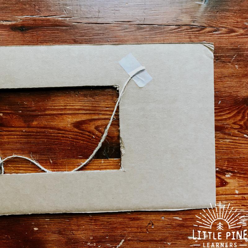 DIY cardboard craft!