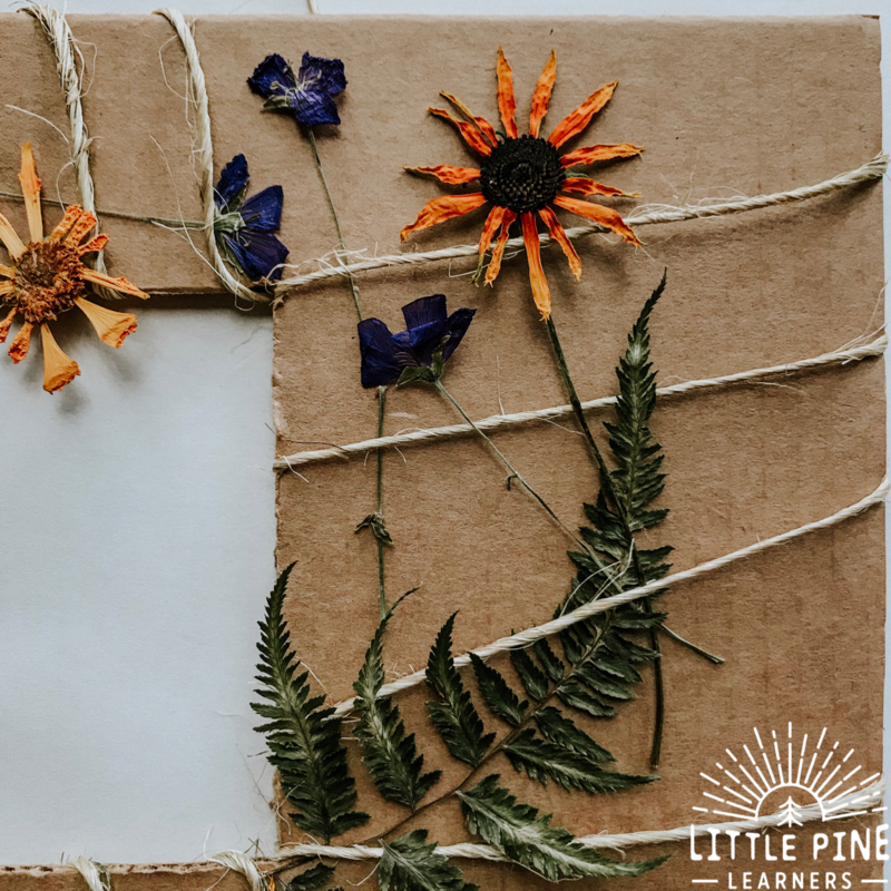 Try making this beautiful nature frame to showcase one of your favorite memories in nature! The nature weaving technique used to make this frame is fun for people of all ages and the results are always so beautiful. Read on to see how we made this special keepsake.