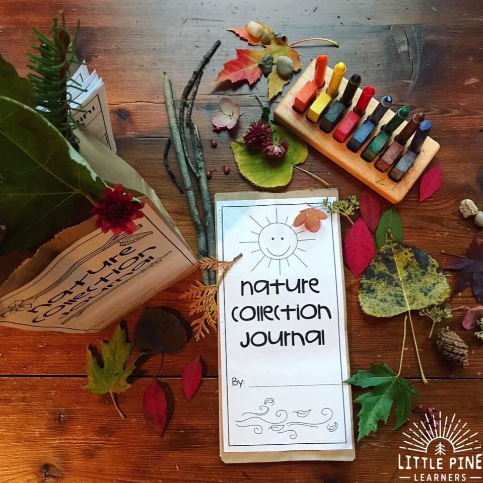 Here is a low-prep outdoor activity that will keep kids of all ages busy for hours. Your kids will have fun while they craft, color, and learn with nature!