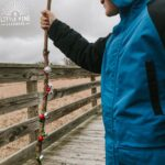 Go on a festive hike this holiday season with this cute jingle bell hiking stick! Kids will love making them and have a blast taking them outdoors for a fun nature walk. After they're done moving and shaking outdoors, make them some hot chocolate and they'll be happy as can be all ready to relax!