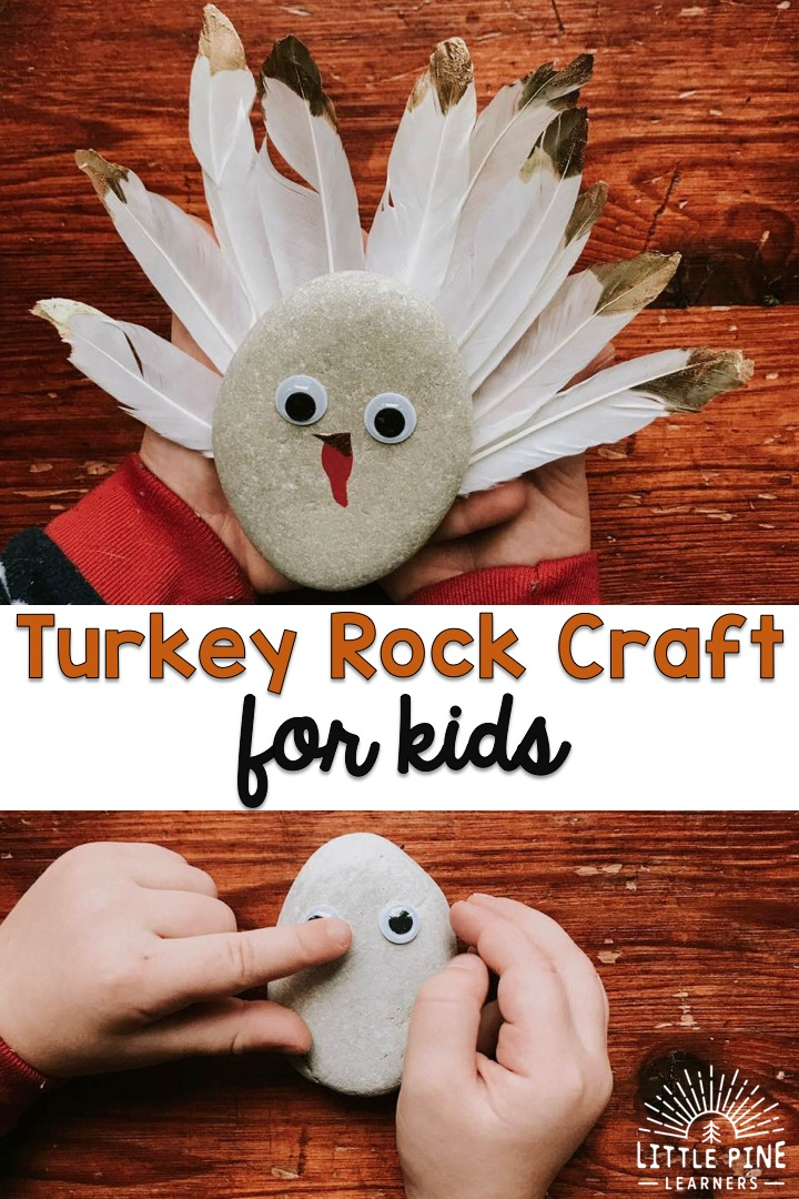 Cute Thanksgiving turkey craft!