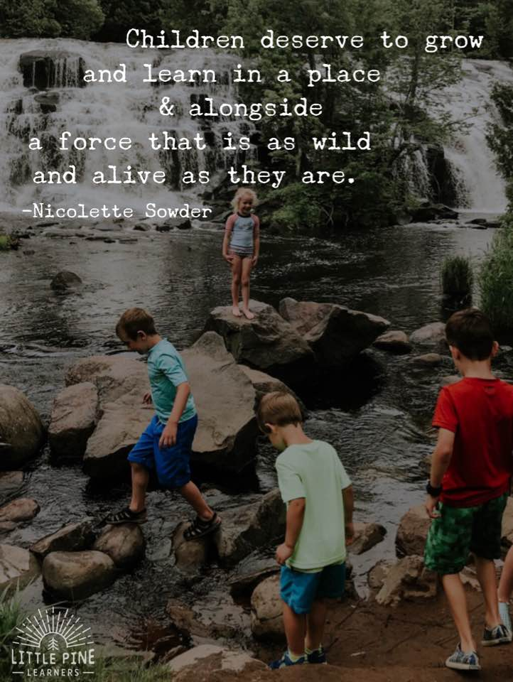 Nature quote for kids!