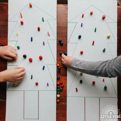 Color Matching Christmas Tree Activity