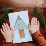 DIY nature Christmas cards!