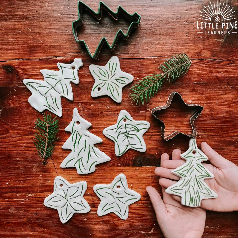 Pine Needle Keepsake Ornaments | 50 Awesome DIY Yule Decorations and Craft Ideas You Can Make for the Winter Solstice