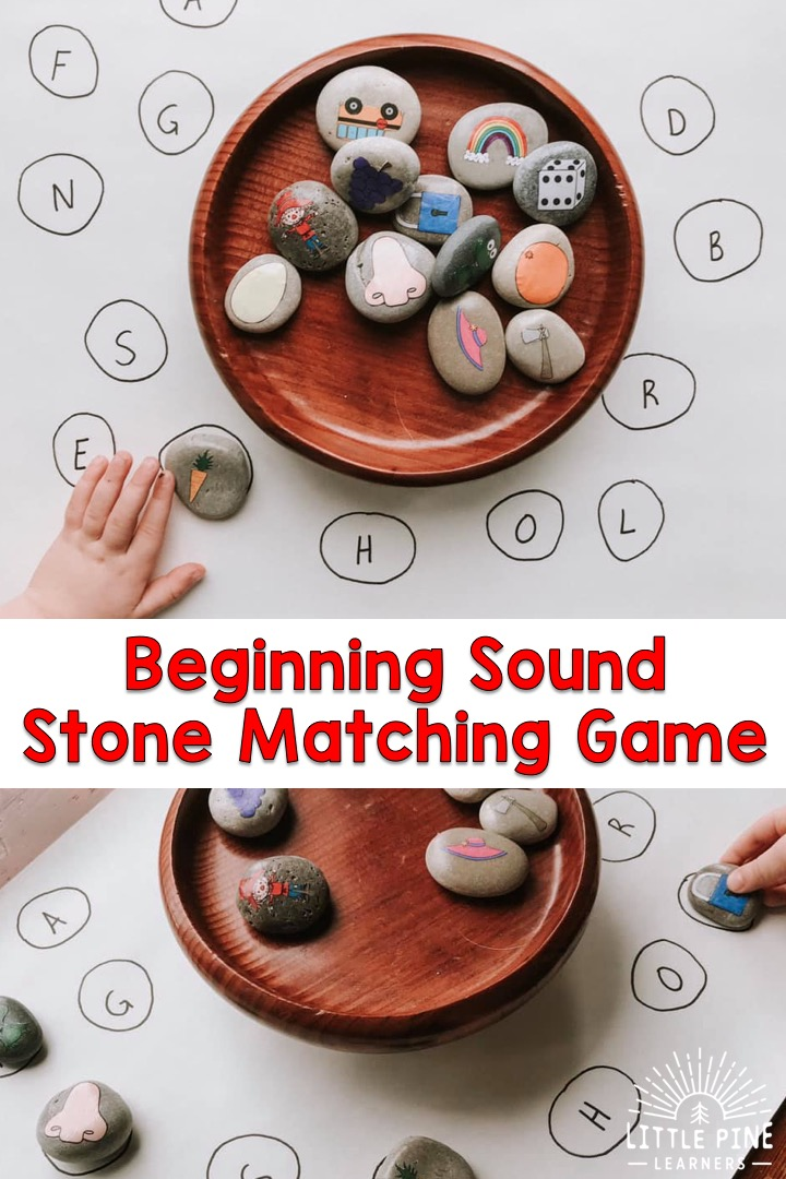 Fun beginning sound activity for kids!