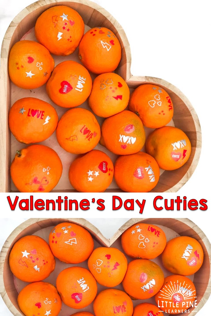 This healthy Valentines Day snack is so tasty and cute!