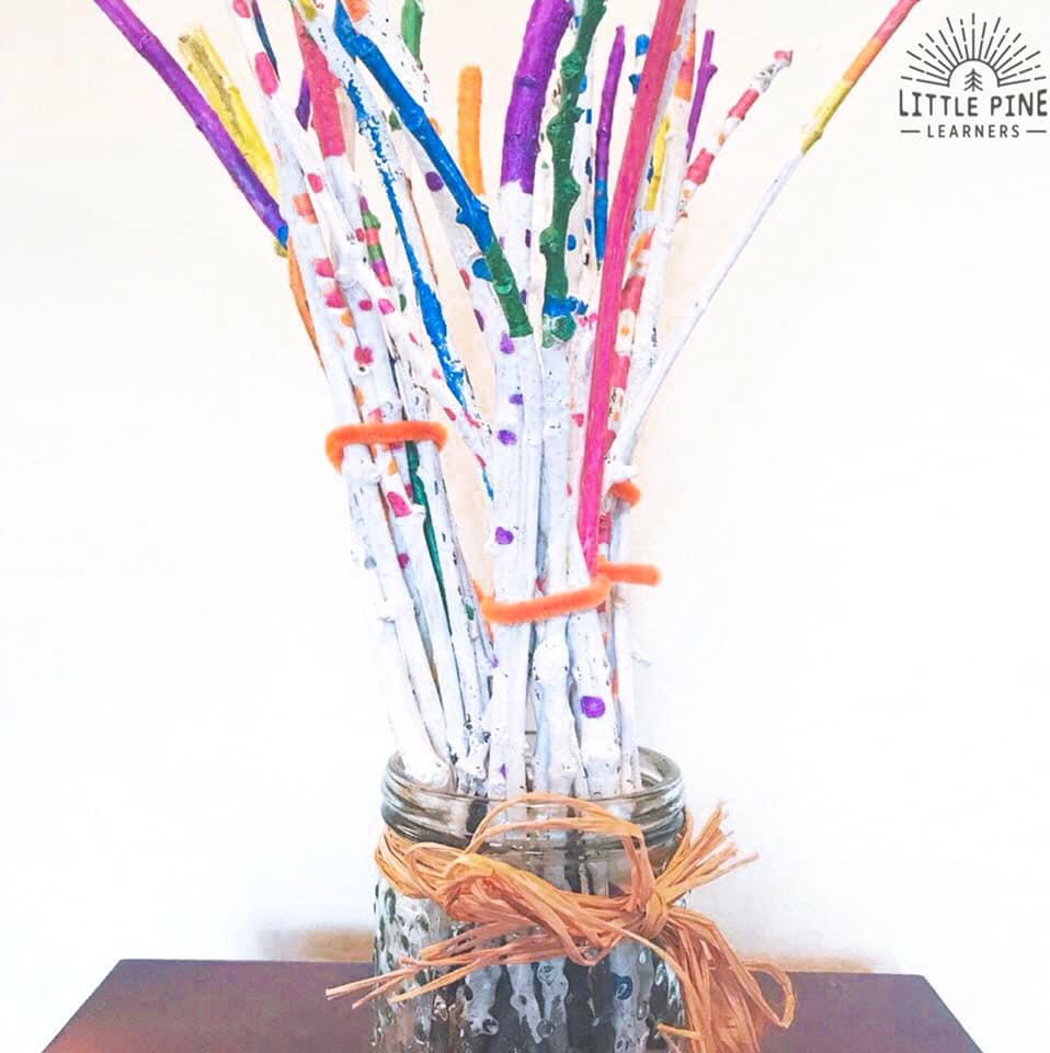 These are the perfect activity for the hundredth day of school! Make 100 sticks together and use them in different activities for you hundredth day of school festivities.