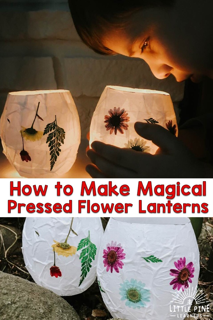 This kid-friendly glowing lantern nature craft will certainly become a spring and summer tradition!