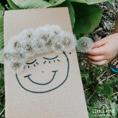 A Cute Dandelion Wish Activity for Kids