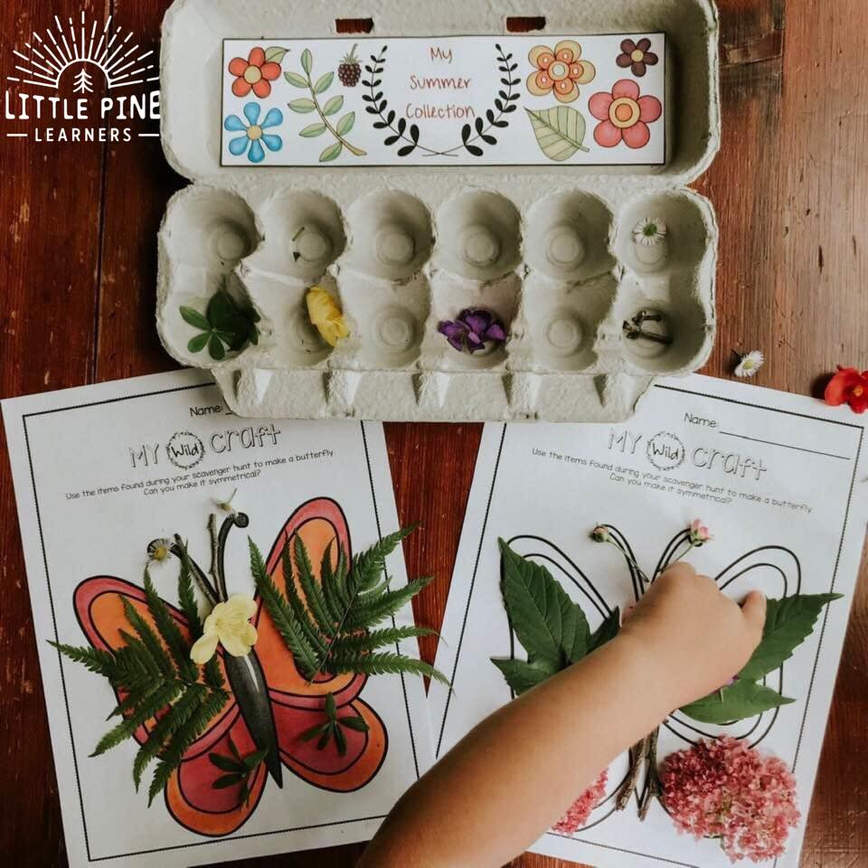 Nature printables for easy nature crafts!