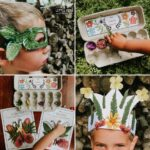 Love the idea of crafting with nature but not sure where to start? Try this simple and fun way to collect nature and create art with the most lovely crafting supplies around! Crafting with nature is the perfect way to connect kids with nature and helps you ditch plastic crafting supplies for natural and biodegradable material.