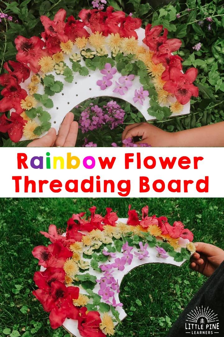 Fun rainbow activity for kids!
