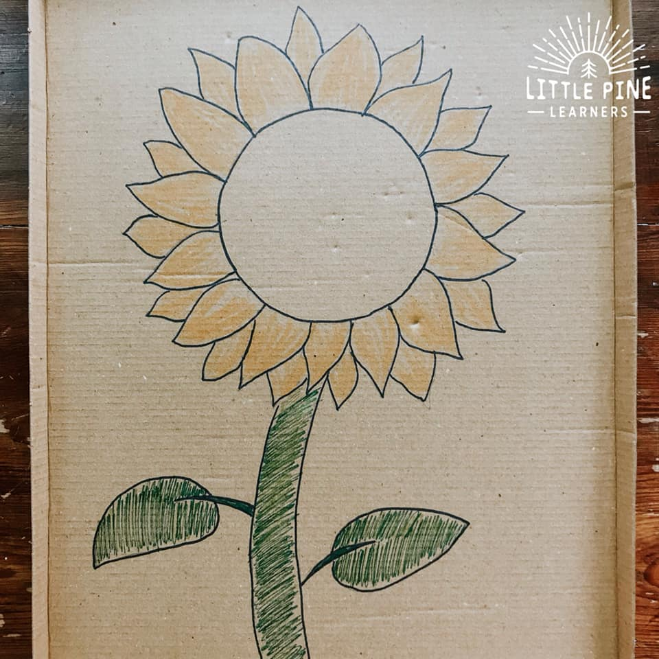 DIY summer cardboard craft!
