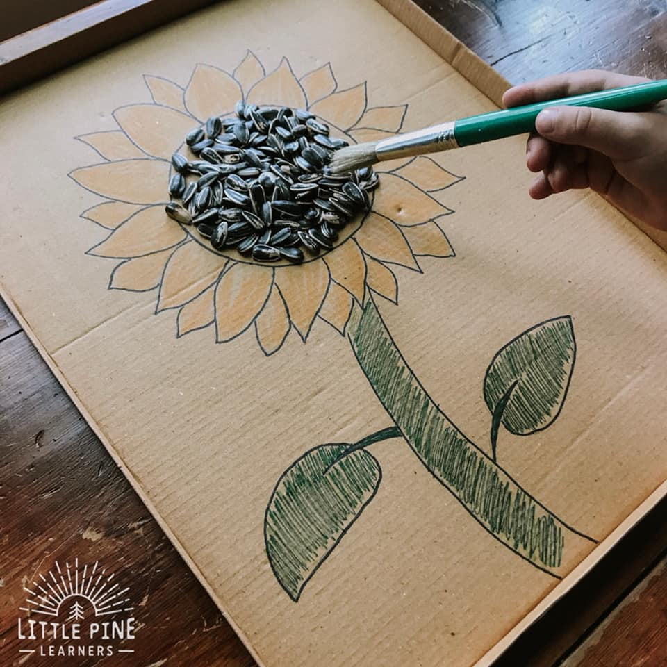 Sunflower activities for kids!