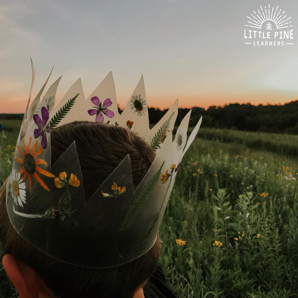 Stunning nature crown!
