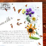 Encourage reading at home with this gorgeous DIY pressed flower bookmark!