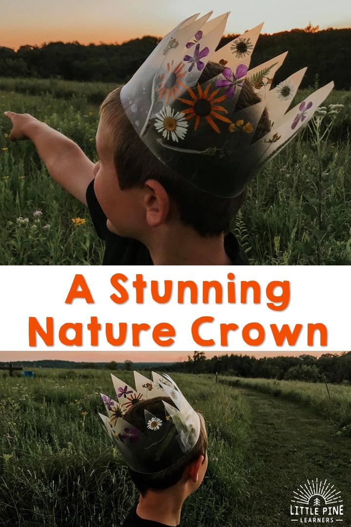 Stunning nature crown!