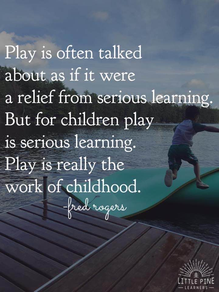 Outdoor play and exploration is an important part of childhood. When outdoors, children are given the chance to exercise, strengthen gross motor muscles, take risks, socialize, appreciate nature, and so much more!