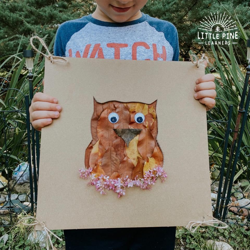 Nature owl craft!