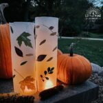 Easy to make wax paper lantern!