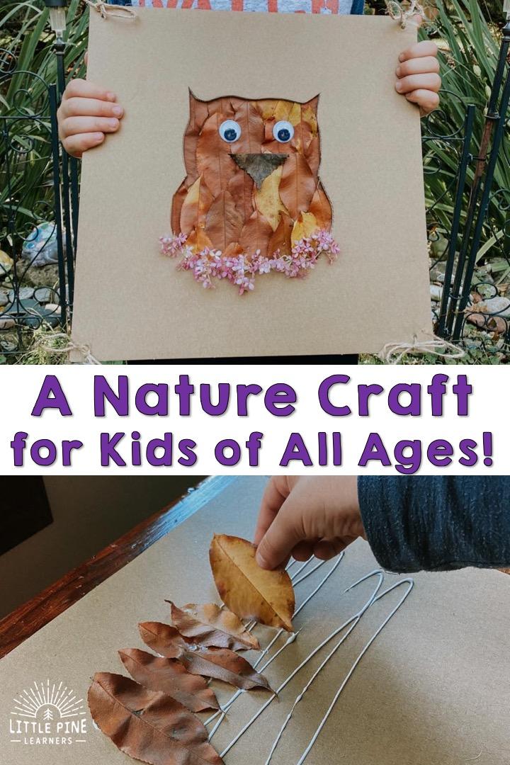 Leaf owl craft!