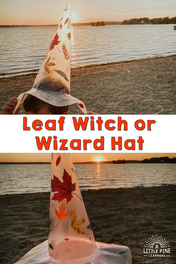 This is the most beautiful DIY Halloween costume accessory! These witch and wizard hats are showstoppers and will add a unique touch to your halloween costume. You just need leaves and few other supplies to make these beautiful hats!