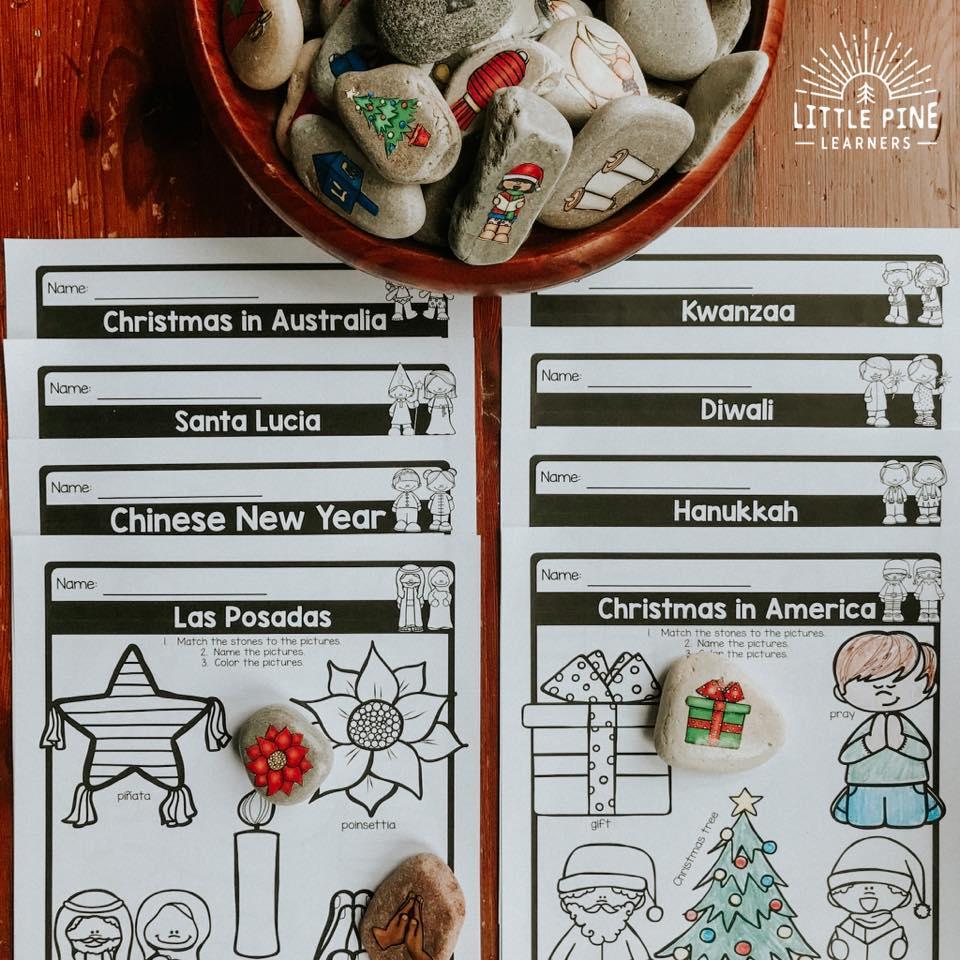 Holiday printables for kids!