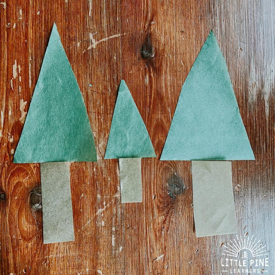 These pine tree lanterns make the perfect handmade Christmas gift or decoration for your home! They are so easy to make, inexpensive, and kids will love to help with the process.