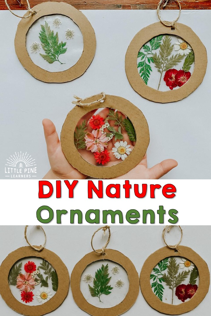 DIY Christmas ornaments are a special part of our family holiday traditions. These ornaments are so easy to make and are absolutely beautiful!