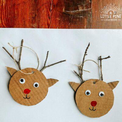 Irresistible DIY Reindeer Ornament