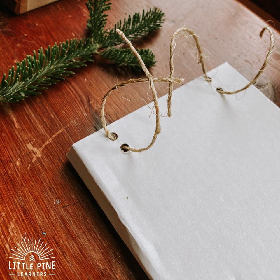 Cardboard Christmas cards.