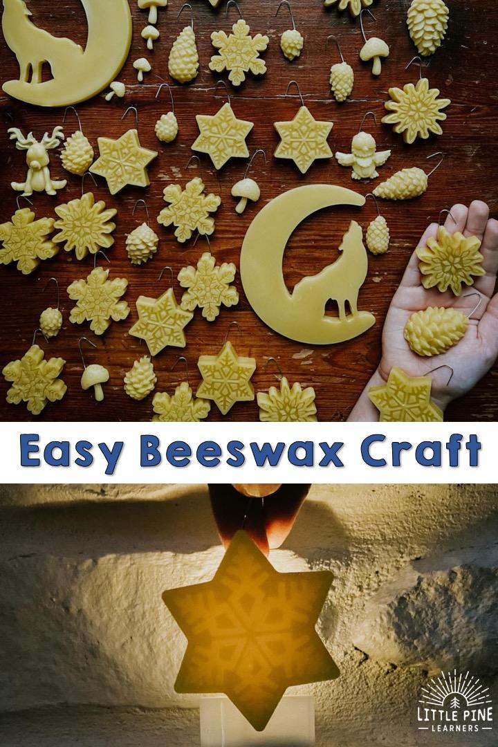 Beautiful beeswax craft