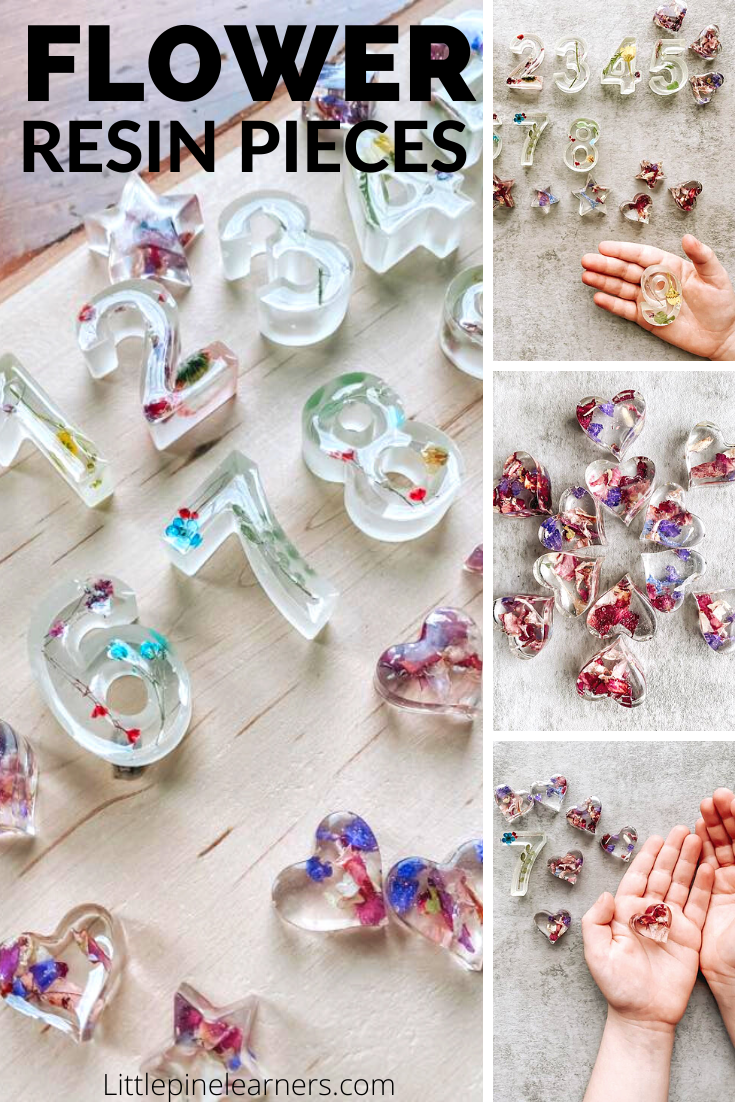 Preserving flowers in resin is an easy and fun process if you follow these steps! They make a fun decoration, gift or learning tool for kids.