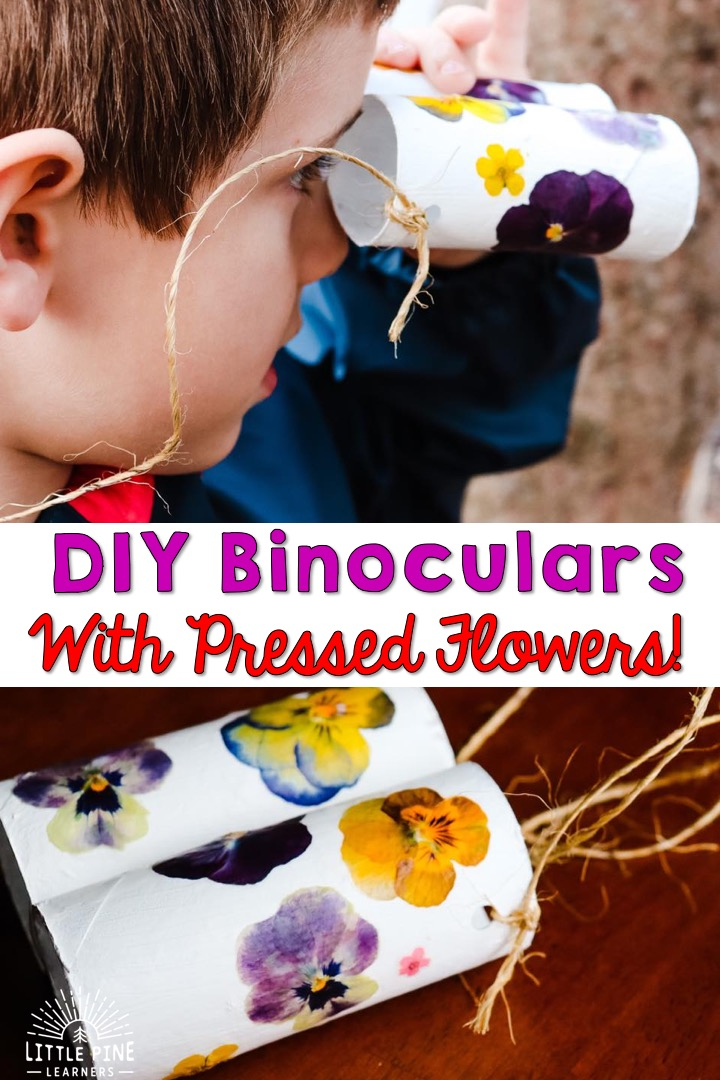 These DIY binoculars are absolutely beautiful and so easy to make!