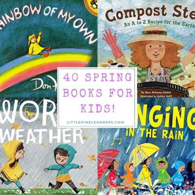 Gorgeous Spring Books for Kids