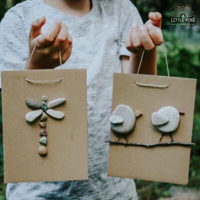 DIY Pebble Art for Kids