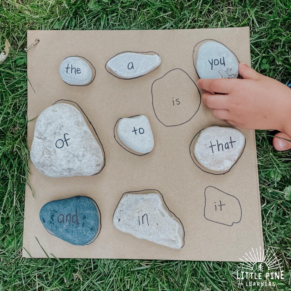 Stone literacy game!